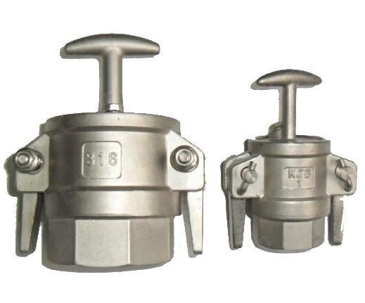 液氨鹤管专用不锈钢快速接头    槽罐车专用KJB快速接头 1