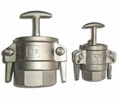 液氨鶴管專用不銹鋼快速接頭    槽罐車專用KJB快速接頭