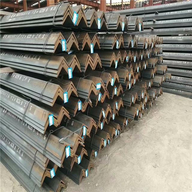 High Quality Hot Rolled Low Carbon Steel Bar Iron Steel Angle Bar  2