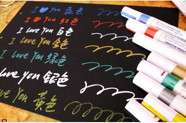 批发日本正品ZEBRA斑马油漆笔记号笔补漆笔 3