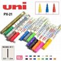 批发日本正品三菱油漆笔记号笔打点笔 5