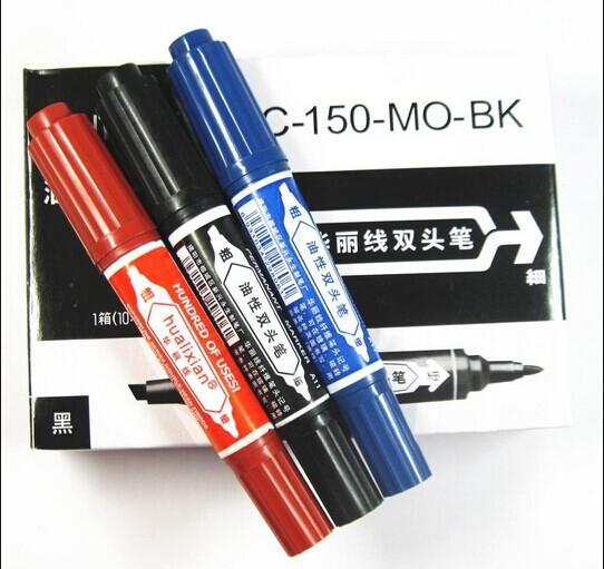 批發日本ZEBRA斑馬油性筆記號筆大雙頭MO-150 3