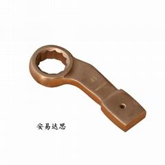 防爆彎柄敲擊梅花扳手鋁銅鈹銅合金防磁工具 防爆工具廠家直銷