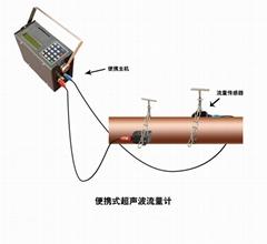 大连海峰TDS-100P便携式超声波流量计