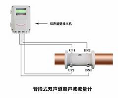 大連海峰TDS-100管段式雙聲道超聲波流量計