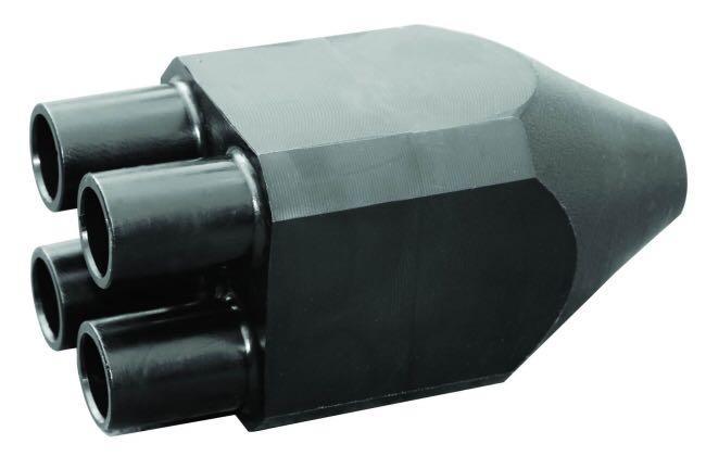 杭州蕭紅塑膠PE材質集分水器PE地源熱泵管件 5
