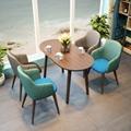 高檔餐廳輕奢餐椅定做玫瑰金椅子
