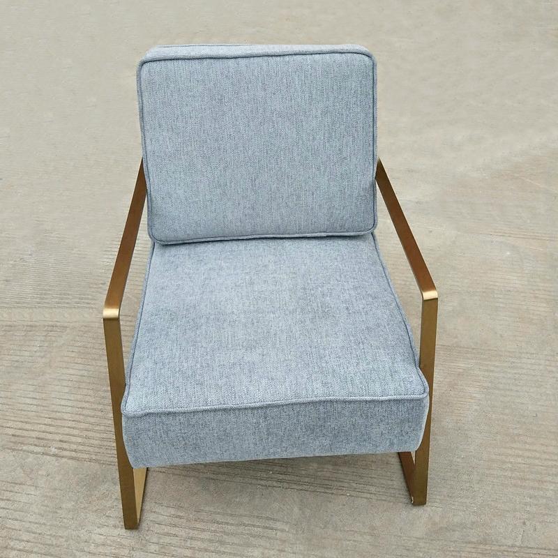 防火阻燃單人位沙發椅定做廠家直銷 2