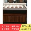 餐廳調料台定做大理石醬料台廠家供應 4