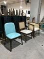 各式餐廳實木椅架防火皮革餐椅廠