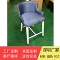 各式餐廳實木椅架防火皮革餐椅廠家訂製 3