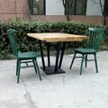 香港餐廳實木圓桌中西餐廳桌子訂製 3