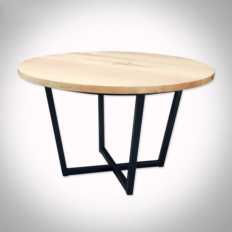 香港餐廳實木圓桌中西餐廳桌子訂製 4