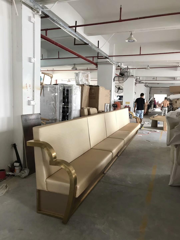 香港KTV弧型拉扣沙發訂做可提供防火証書 4