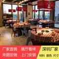 香港火鍋店餐桌供應商大理石一人一鍋火鍋桌訂做 3