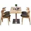 訂造咖啡廳實木餐桌戶外休閒餐桌餐臺 4
