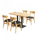 訂造咖啡廳實木餐桌戶外休閒餐桌