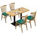 訂造咖啡廳實木餐桌戶外休閒餐桌餐臺 2