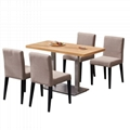 訂造咖啡廳實木餐桌戶外休閒餐桌餐臺 3