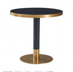 圆形大理石餐桌面定做厂家
