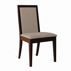 Customized solid wooden dining chairs for restaurants