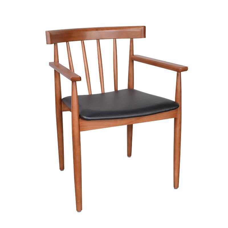 餐廳專用實木餐椅定做 4