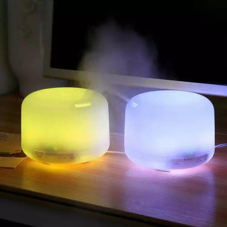 Cool Mist LED Night Light Air Humidifier / Essential Oil Natural Aroma Diffuser 2