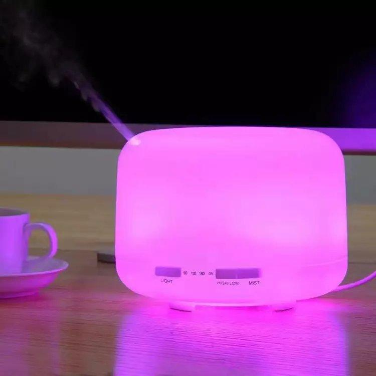 Cool Mist LED Night Light Air Humidifier / Essential Oil Natural Aroma Diffuser 5