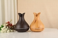 LED Night Light Cool Mist Air Humidifier Vase Shaped Aroma Diffuser