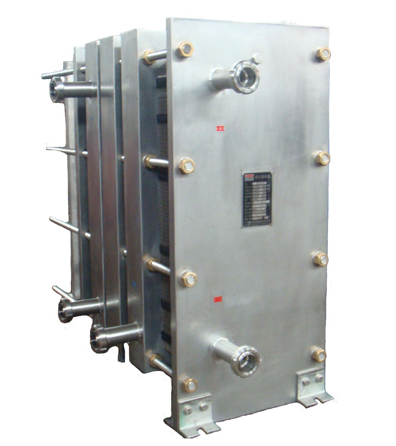 牛奶巴氏灭菌用可拆板式换热器 5