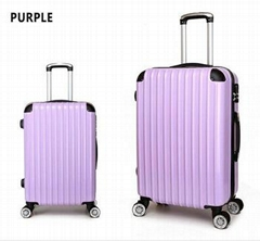 Hard shell abs pc trolley suitcase l   age 3pcs travel l   age bags set