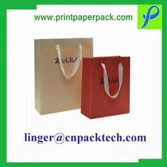 Customized Vintage Rectangle Wine Bottle Packaging Bag