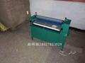 彩纸皮革商标立式白乳胶胶水机