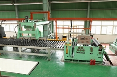 Stainless steel polishing machine for the sheet and coil with the No.4 abrasive