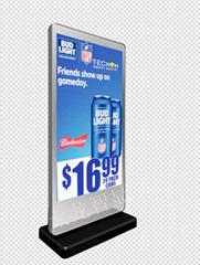 戶外LED落地廣告機