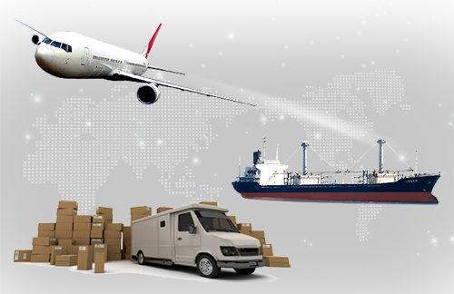 China to the United States air and sea express logistics service 1