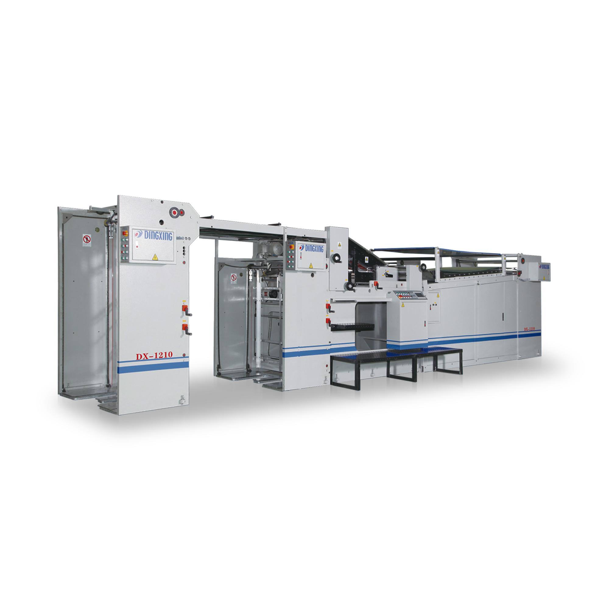 DX-1207/1210 Automatic Sheet-to-sheet Cardboard Litho-Laminator 1