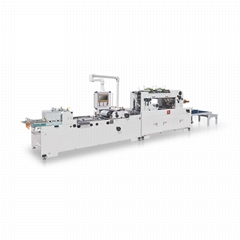 CH-700/1100 Full-Auto Corner Cutting & Creasing Window Patching Machine