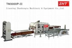 Vacuum membrane press machine for PVC, veneer,  heat transfer ZHT Liaoning