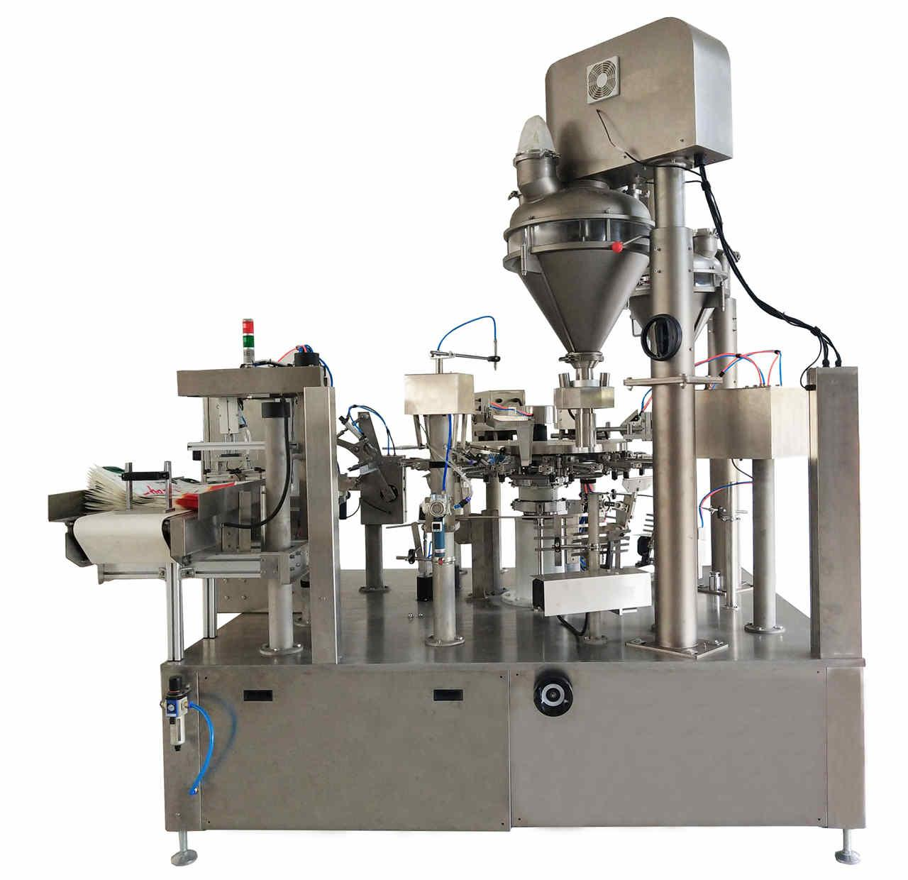 rotary premade pouch Cocoa powder packing machine 1
