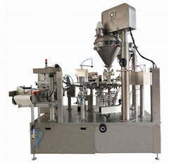 rotary premade pouch Cocoa powder packing machine