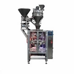 全自動四邊燙盒式袋奶粉洗衣粉麥片麵粉立式包裝機