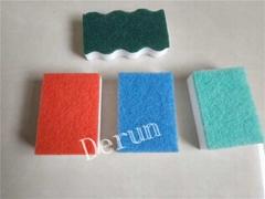 Compress melamine sponge