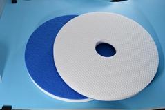 Floor clean pad of melamine sponge