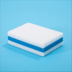 PU sponge with melamine sponge
