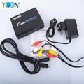 Metal AV (RCA)+HDMI To HDMI Converter
