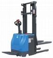 Full electric stacker with EPS and