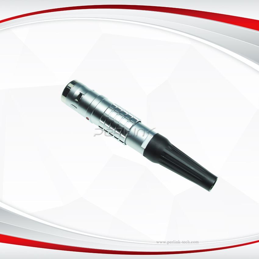 OEM/ODM projects connectors series K ECG 6pin fixed socket waterproof push pull  2