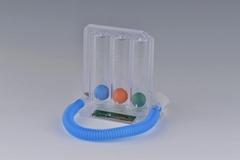 Three-ball Incentive Spirometer for Respiratory Thearpy