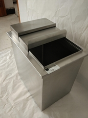 Customer-designed Stainless Steel Ice Bin with insulation wrap